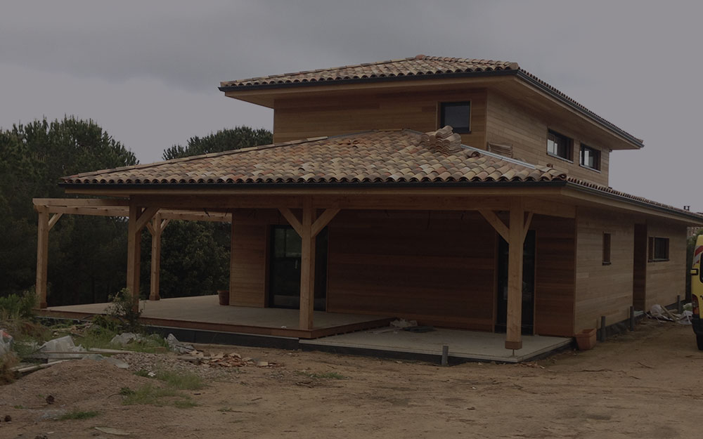 Construction maison bois corse ventana blog - Maison bois en corse ...