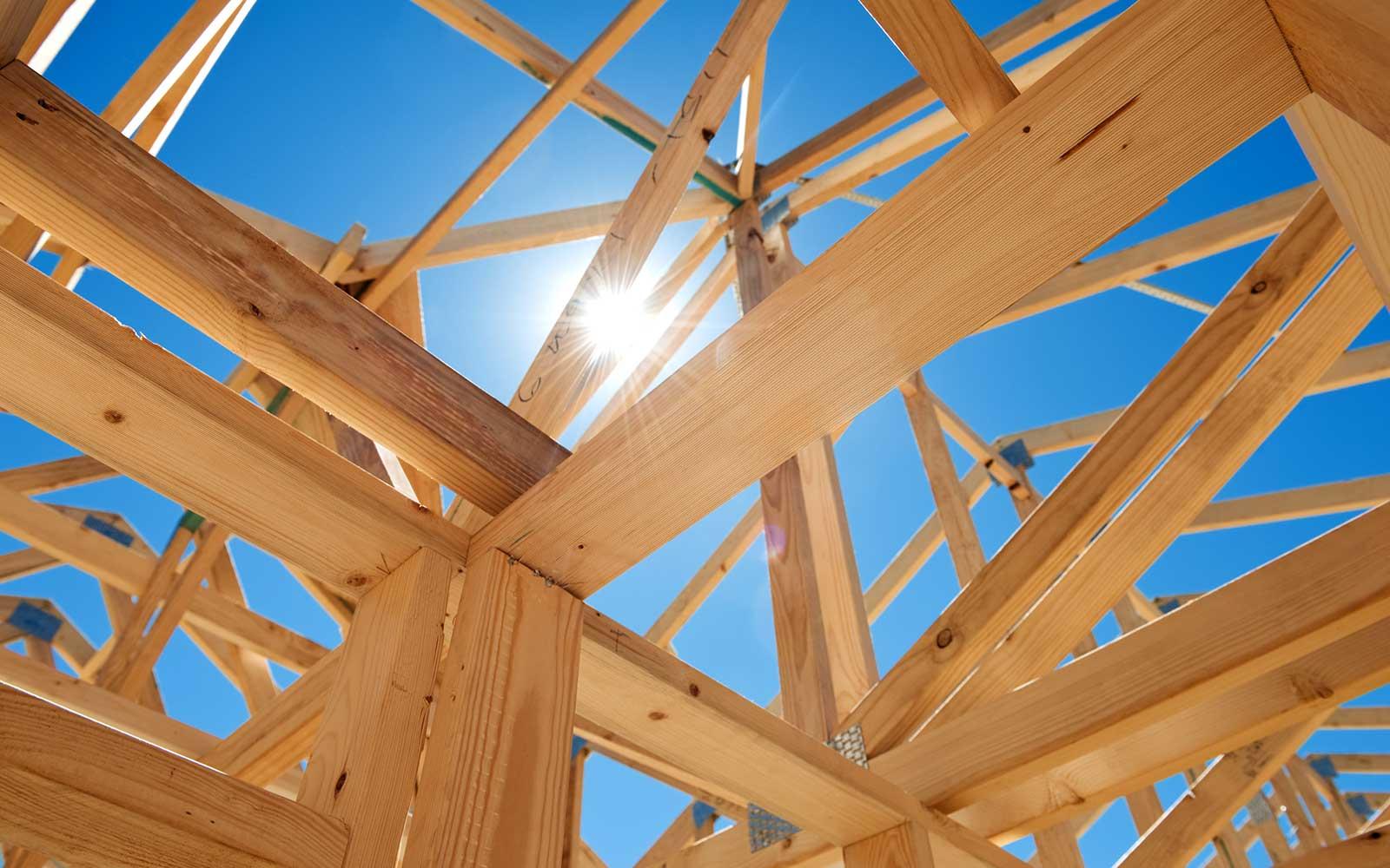 charpente en bois projet construction unique Corse Solutions Bois