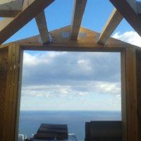 projet construction d'une charpente en bois Corse Solutions Bois