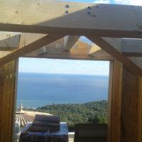 construction charpente en bois Corse Solutions Bois