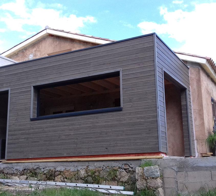 Extension en bois – Conca