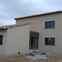 façade en bois projet Corse Solutions Bois