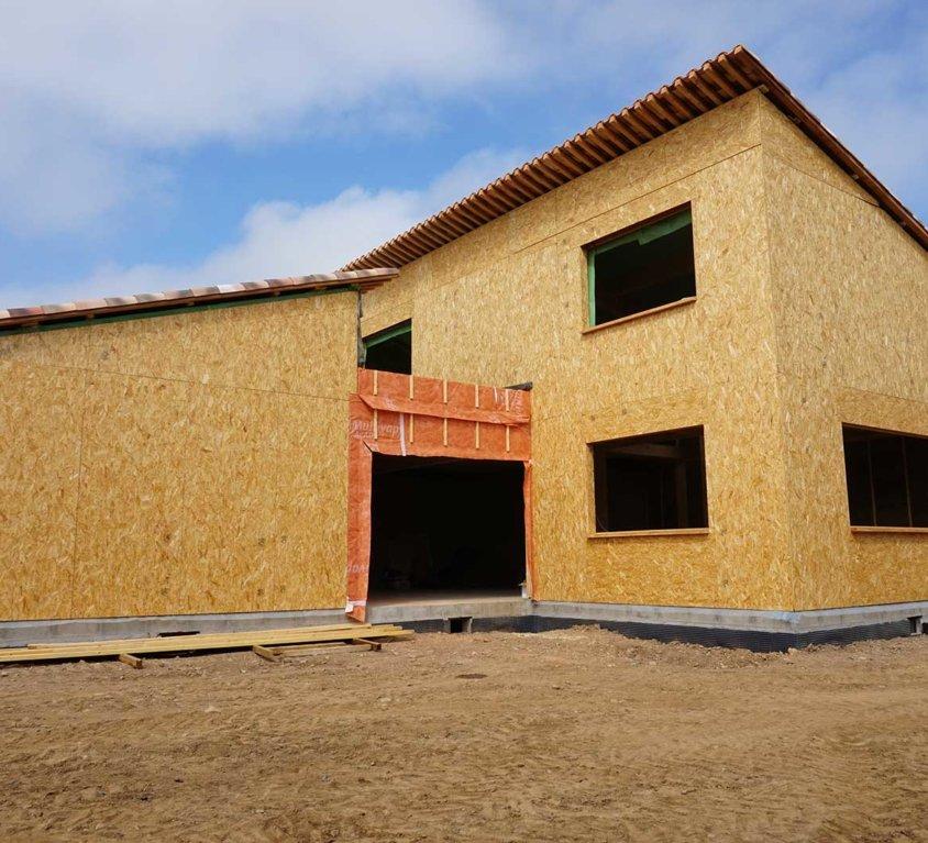 Maison ossature bois – Borgo