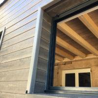 bardage bois et appui de fenêtre Corse Solutions Bois