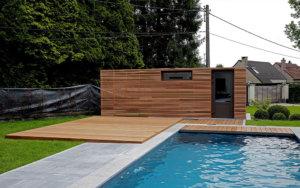 chalet en bois design projet de Corse Solutions Bois