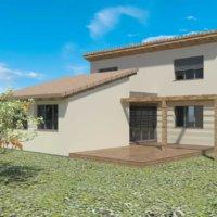 Plan 3D terrasse et pergolas en bois en corse avec Corse Solutions Bois