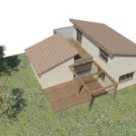 Plen 3D projet d'extension en bois en Corse avec Corse Solutions Bois