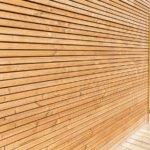 chantier bardage en bois verticale Corse Solutions Bois
