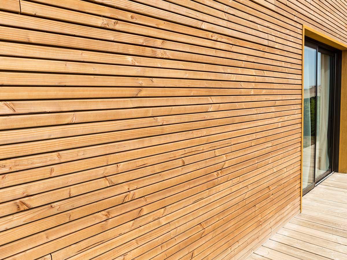 bardage bois vertical cool bardage de bois us with. Black Bedroom Furniture Sets. Home Design Ideas
