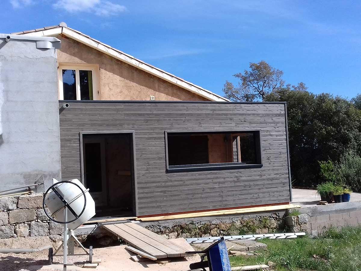 Devis Extension Maison à Agde ▷ Agrandissement Bois, Acier, Parpaing