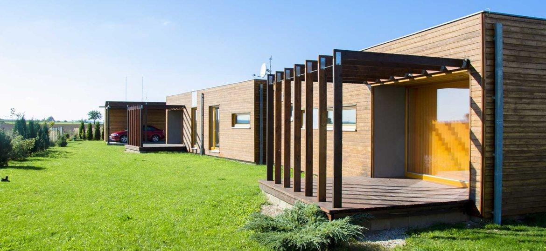 studio en bois type bungalow en Corse par Corse Solutions Bois