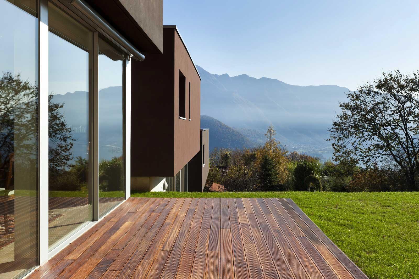 projet terrasse en bois en Corse par Corse Solutions Bois
