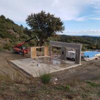 chantier bois corse maison