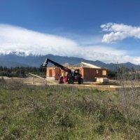 Corse bois maison construction