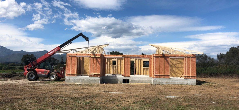 construction bois maison corse