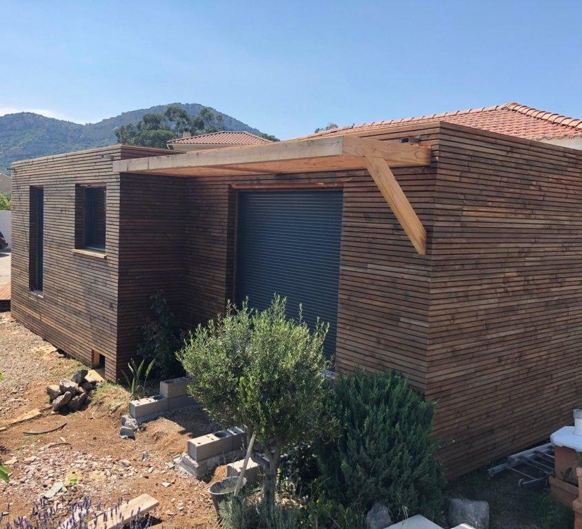 Extension en bois – PATRIMONIO